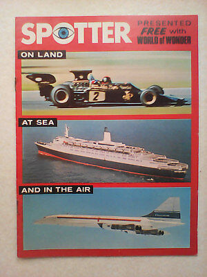 1973 World of Wonder magazine Free Gift. Came with issue no.186. Vintage 1970's