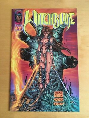 Witchblade (1995) #4...Published Apr 1996 by Image NM Issue 4