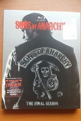 Sons of Anarchy: The Final Season  NS   (Blu-ray Disc, 2015, 4-Disc Set)