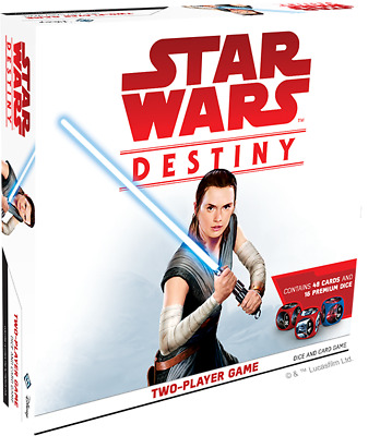 Star Wars Destiny 2 Player starter Game plus two booster boxes Ideal Player A