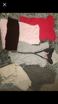 maternity clothes bundle size 10 Leggings Hoodie Tops Over Bump