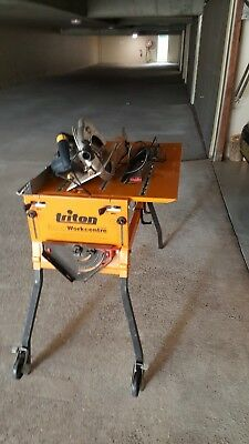 Triton workcentre 2000 series with GMC 235mm saw