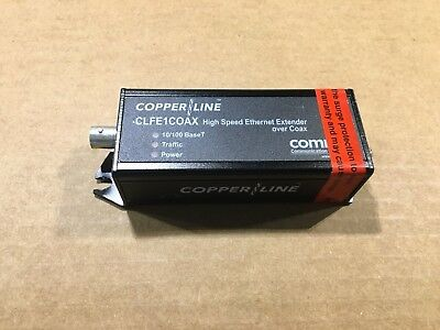 Comnet CopperLine CLFE1COAX HIGH SPEED ETHERNET EXTENDER OVER COAX