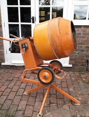 240 V MASTERMIX COMPACT electric concrete mixer with stand