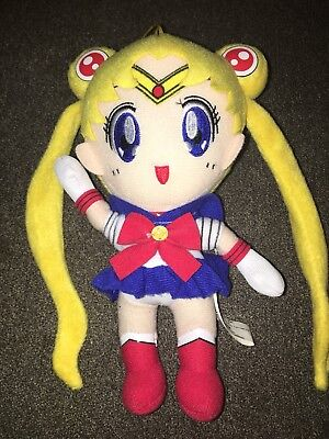 Bandai Sailor Moon Plush Doll Hanger 8 Inch