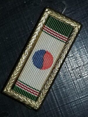 WWII US Army Navy Marine KPUC Korean PUC Ribbon Bar
