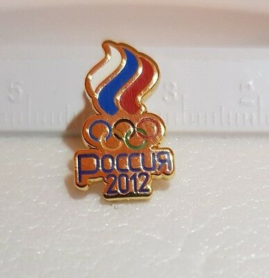Olympiade  2012 London Olympic Games NOC RUSSIA Pin Lapel Abzeichen Official