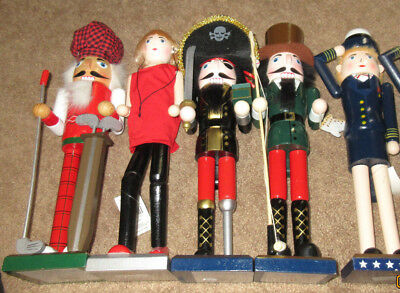 Nutcrackers: NOS: Variety Of Sizes and Styles