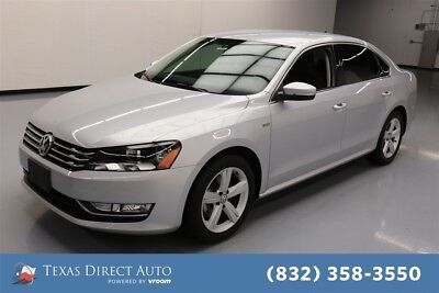 Volkswagen Passat 1.8T Limited Edition Texas Direct Auto 2015 1.8T Limited Edition Used Turbo 1.8L I4 16V Automatic FWD