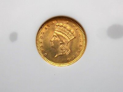 1860 G$1 Gold Dollar Liberty NGC MS61 East Coast Coin & Collectables, Inc.