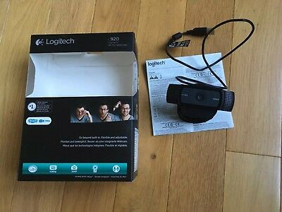Logitech HD Pro C920 Webcam - Excellent condition