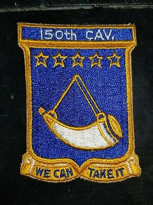 WWII US Army 150th Armored Cavalry Recon Cut Edge Patch