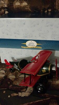 HALLMARK 1998  Kiddie Car Classics 1930 SPIRIT of CHRISTMAS Biplane, NEW in Box