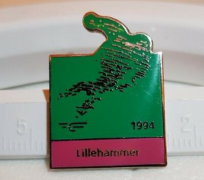 Olympiade 1994 LILLEHAMMER  Olympic Games  Pin  Abzeichen Official
