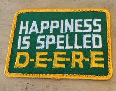 Vintage Old New Stock John Deere Patch