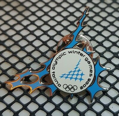 Olympiade  2006 Torino  Olympic Games  Pin Lapel Abzeichen Official