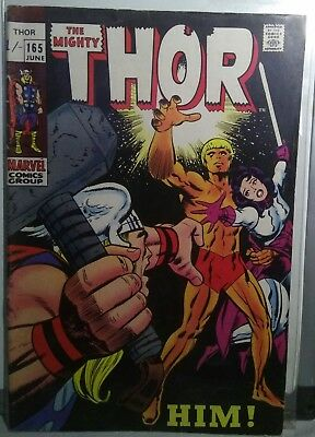 MARVEL The Mighty THOR Issue 165 June 1969 1st Appearance of HIM Adam WARLOCK