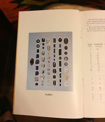 2 Vintage Ancient Trade Bead Chart Booklets Native America Tennessee Mississippi