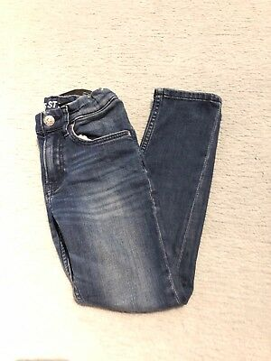 Boys H&M Super Stretch Fit Jeans 6-7 Years