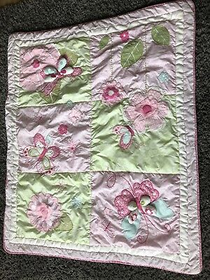 Lovely Cot Bed Quilt For Girls