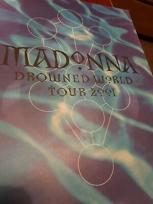 Madonna Drowned World Tour Programme Brochure 2001