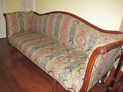 Sofa chippendale mahogany for sale !!!