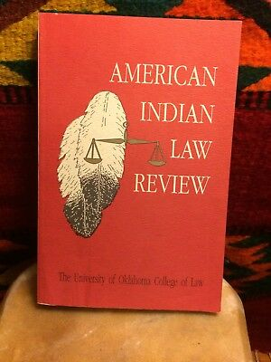 Book: American Indian Law Review Vol.xvii No. 1 1992 University Of Oklahoma