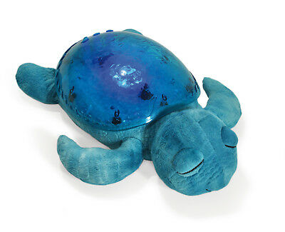 Cloud B Tranquil Turtle Aqua Plush Toy Night Light Projector Soother 7423-AQ NEW