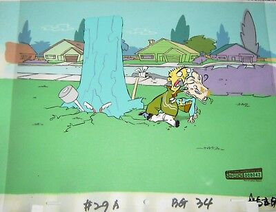 Original production cel  - Ed, Edd and Eddy (Cartoon Net)