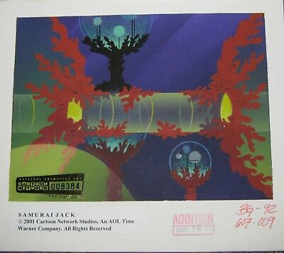 Original Production background key - Samurai Jack (Cartoon Net)