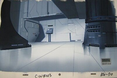 Original production background  - Clone Wars (Cartoon Net)