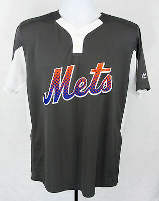 51c3d6c31a5 New York Mets jersey  200 Majestic Authentic on field cool base home NWT  Sports Mem