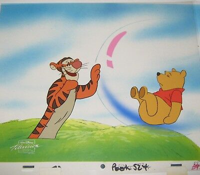 Original production cel  - Wonderful World of Winnie the Pooh  (Disney TV)