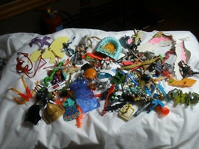 Large Mixed Lot of Vintage 1980's Toys and Accessories She-ra, Gi Joe He-man Etc