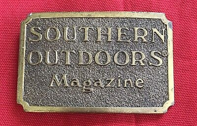 1982 Souther Outdoors Limited Edition Belt Buckle