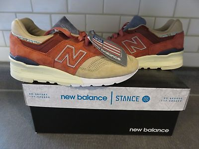 new concept ddc0d c1810 NEW BALANCE X Stance - M997ST - Mens US 5 - Made in USA - Limited Edition