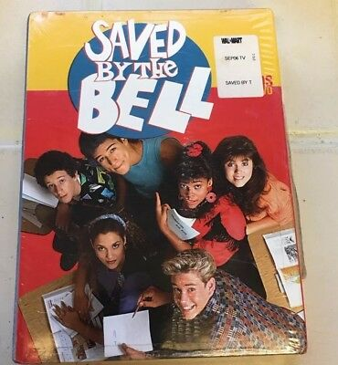 Saved By the Bell - Seasons 1 & 2 (DVD, 2003, 5-Disc Set) NEW