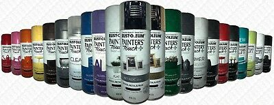 Painters Touch Plus Super High Coverage 340g Spray Paint Can Rustoleum