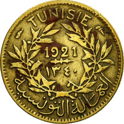 [#529122] Coin, Tunisia, Anonymous, 50 Centimes, 1921, Paris, EF(40-45)