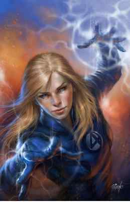 Fantastic Four 1 Comicxposure Lucio Parrillo Hero Invisible Woman Virgin Variant