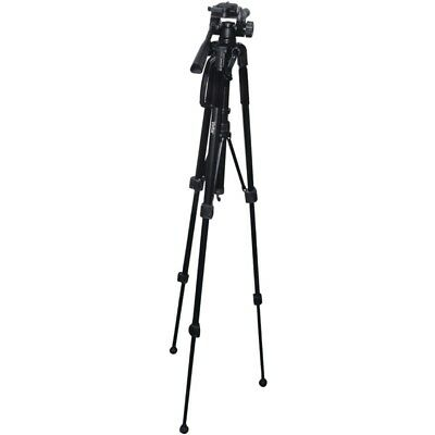 Vivitar Tripod 57 inches 3-way, fluid pan head with bubble level Nice