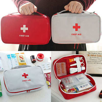Portable Camping First Aid Kit Emergency Medical Bag Waterproof Car Kits Bag AU