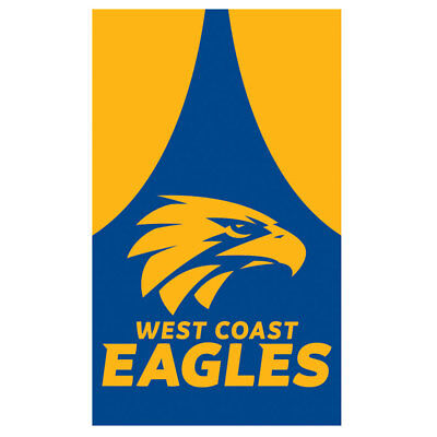 West Coast Eagles AFL New Supporters Cape Wall Flag 90 x 150cm + FREE EXPRESS