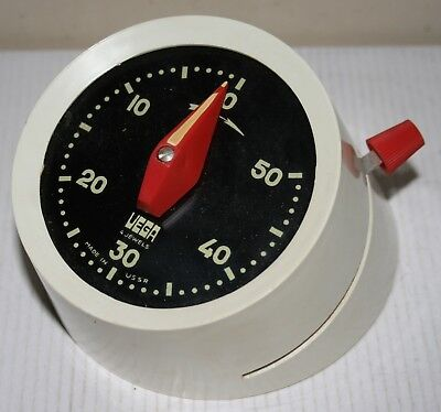 Vintage Russian Vega 30 Signal Clock - Photographic Timer / Darkroom Photography