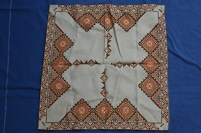 Vintage Handmade Tablecloth Embrodery 124
