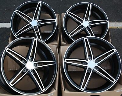 """Alloy Wheels X 4 18"""" Bmf Gravity Dual For Mercedes C E S Class Sl Coupe M14"""