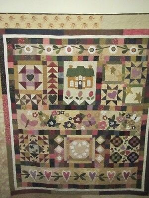 Country Romance -  quilt pattern by Therese Hylton