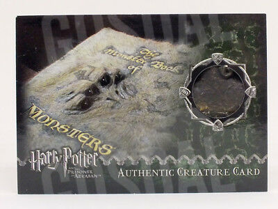 Harry Potter Prisoner Azkaban Update Monster Book Prop Card HP #211/310