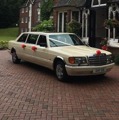 Mercedes 500SE W126 Limousine Wedding Car