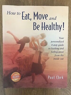 How to Eat, Move and Be Healthy- Paul - Chek Good condition